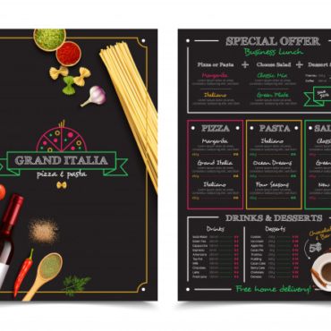 italian-restaurant-menu-with-special-offer-business-lunch-design-elements_1284-16054